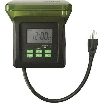 coleman cable outdoor  day heavy duty digital timer