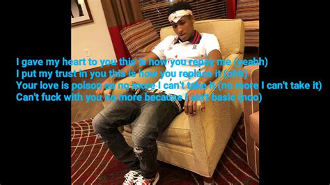 youngboy never broke again lyrics no love nba youngboy love is poison lyrics youtube