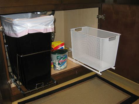 kitchen garbage cans sink the sink organization pleia2 s