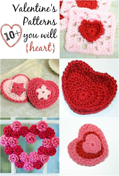 valentines day crochet patterns free s day crochet patterns