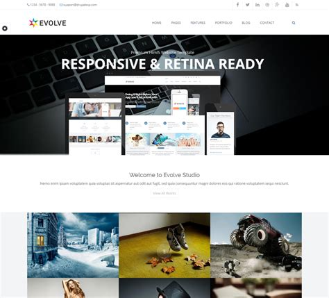 drupal theme evolve creative design for your business with drupal evolve theme