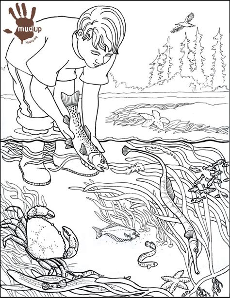 coloring pages of water pollution water pollution drawing colouring pages kids coloring