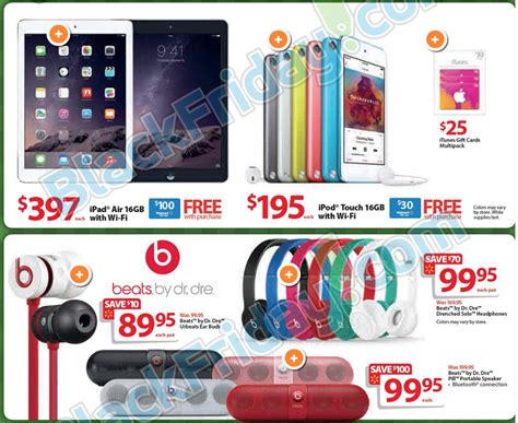 Walmart 300 Gift Card Black Friday - walmart discounting ipads iphones and more in black friday sale