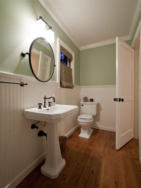 should i use green board in bathroom beaded board houzz