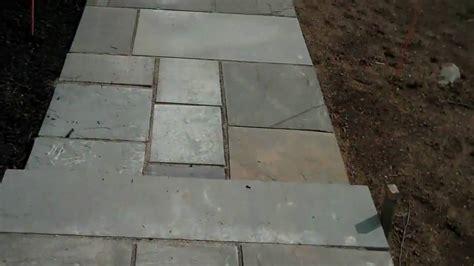 chris orser landscaping bluestone walkway installation