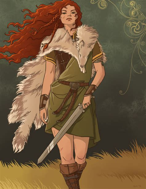 Boudicca Warrior tamiart boudicca celtic warrior of the iceni
