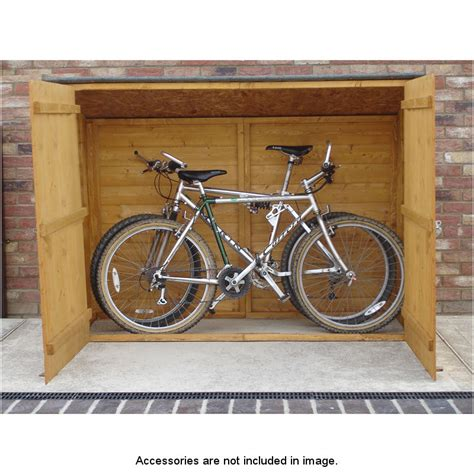 Bicycle Storage Shed by B M