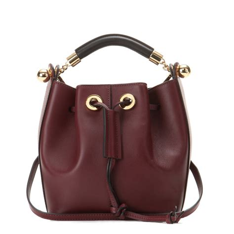 Small Leather by Chlo 233 Gala Small Leather Bag In Brown Lyst
