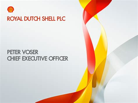 2011 Strategy Update March 15 2011 Royal Shell Ppt
