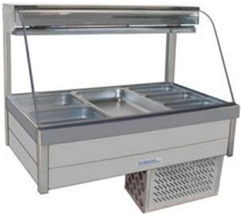 Refrigerated Bar Top by Refrigerated Counter Top Displays For Cafes Bakery