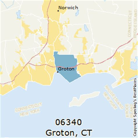 zip code map ct best places to live in groton zip 06340 connecticut