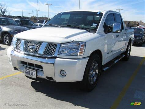 2007 Nissan Titan by 2007 White Nissan Titan Le Crew Cab 24140962 Gtcarlot