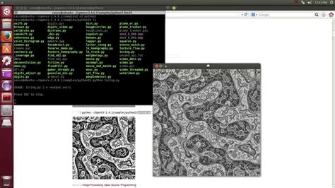 tutorial python en ubuntu opencv programming with python on linux ubuntu 14 04