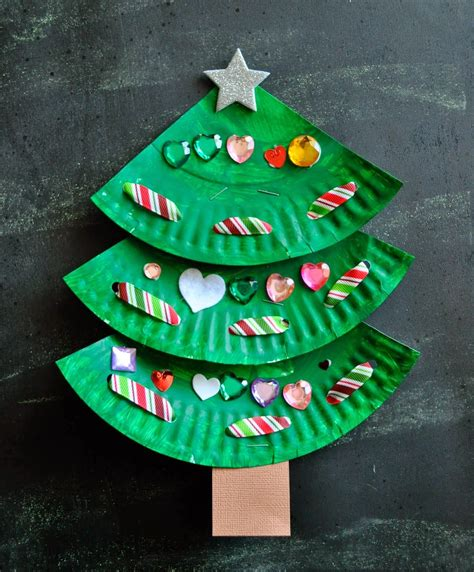 paper plate for christmas craft creative art and craft ideas