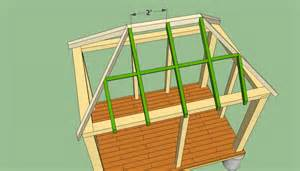 Roof Building Plans gazebo plans howtospecialist how to build step by step diy plans