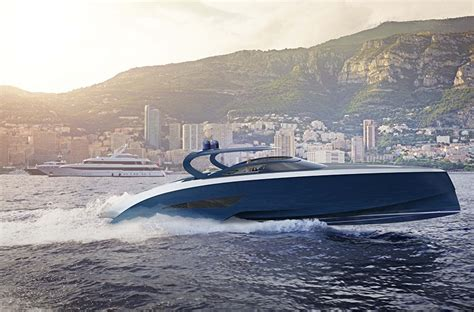 exclusive boat brands bugatti and palmer johnson plunge together to create