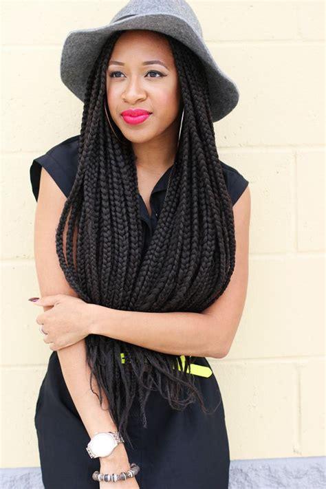 long box braids hairstyles 65 box braids hairstyles for black women