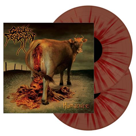 has bloody stool cattle decapitation quot humanure bloody stool colored vinyl quot 2x12 quot metal blade records