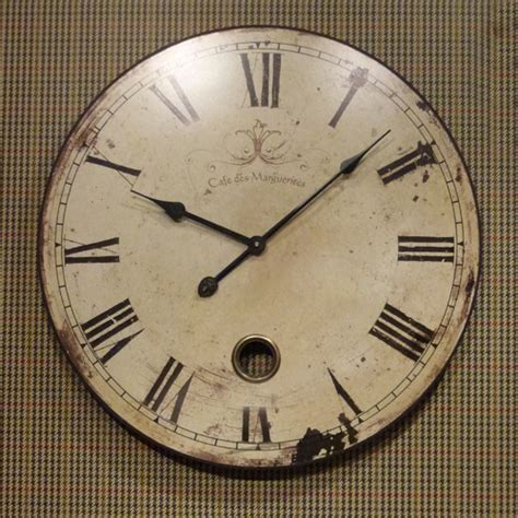 clock home decor shabby chic wall clock beau decor gifts and home accessories