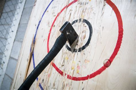 backyard axe throwing backyard axe throwing league batl grounds blogto toronto