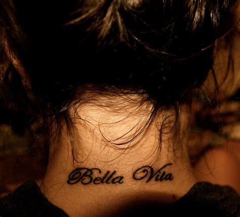 a vita tattoo la vita