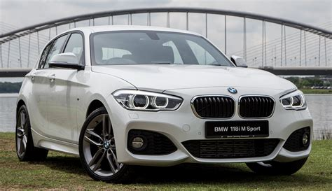 bmw 118ti bmw 118i m sport launched in malaysia rm189k image 610046