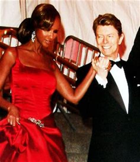 Read All About The New Mrs Bowie by And Bowie David Divorce Iman Abdulmajid David Bowie And