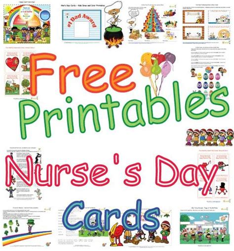 cute nurse s day cards for kids healthy foods coloring