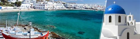 soggiorno a santorini grecia mykonos e santorini in aereo a modo tuo con