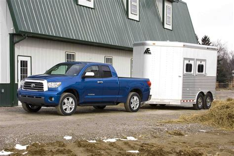 2011 Toyota Tundra Towing Capacity Toyota Lowers Tundra Tow Ratings To Deliver More Realistic