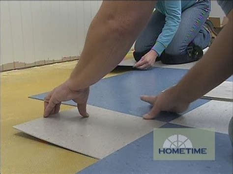 How to Install Vinyl Composition Tile   YouTube