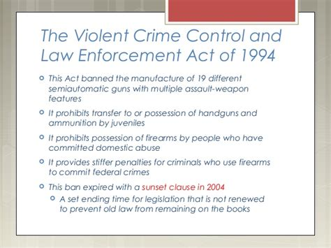 Enforcement Officers Safety Act by Second Amendment