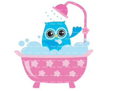 Shower Clipart by Items Similar To Owl Shower Clipart Clip Owl Digital