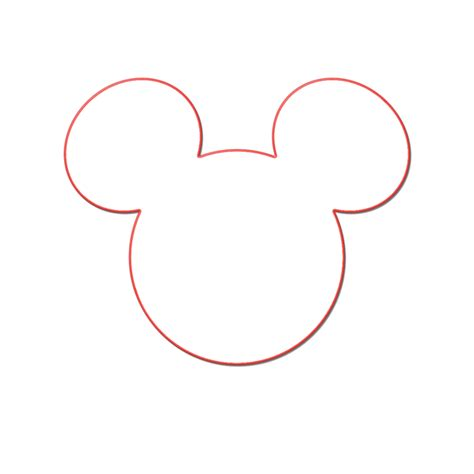 minnie mouse head template joy studio design gallery