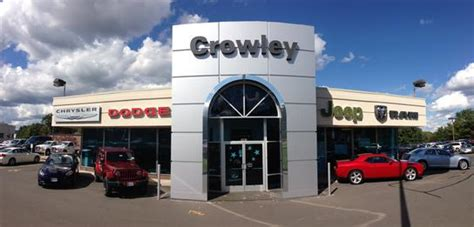 Crowley Jeep Bristol Ct Crowley Chrysler Jeep Dodge Ram Srt Car Dealership In