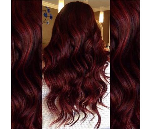 wine hair color hair colors ideal for winter crimson copper
