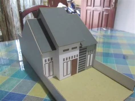 teknik membuat rumah dari kardus baru 20 contoh miniatur rumah dari kardus 21rest com