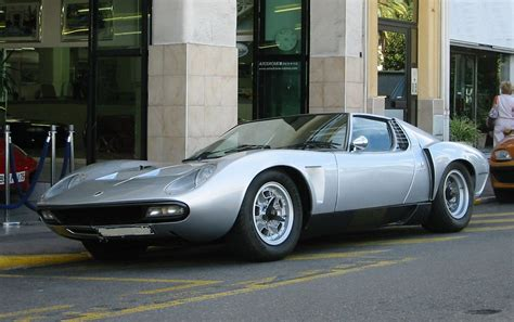 What Car Company Owns Lamborghini File Lamborghini Miura Svj Spider 4808 Jpg