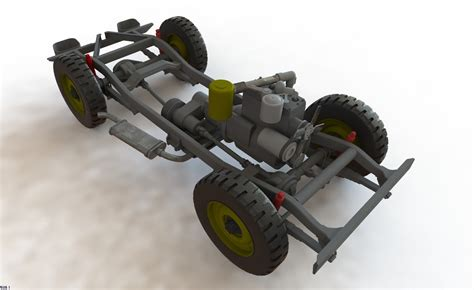 jeep chassis wrl willys jeep chassis