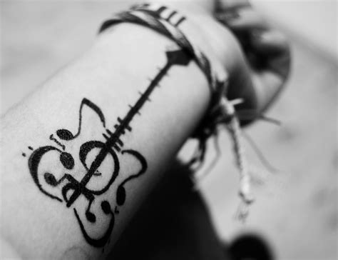 small musical note tattoos tatoo on tatuajes coolest and