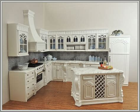 dolls house kitchen furniture chef julias kitchen set white 12pcs bqjuliaw 577 75 miniature designs service