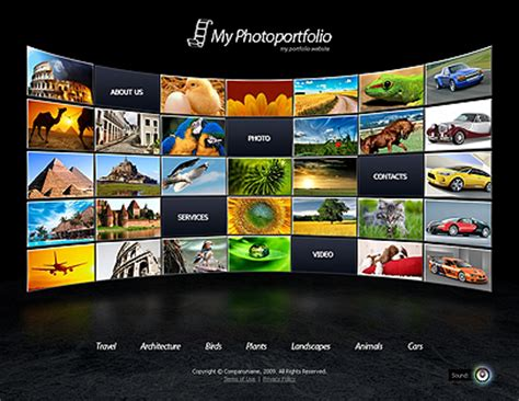 Photo Portfolio Website Template For Free Tonytemplates Blog Best Website Templates For Photographers