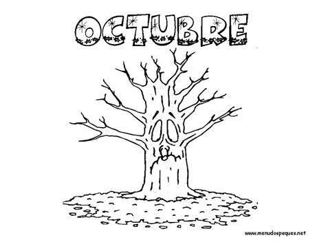 imagenes del mes de octubre para colorear mi album de cantos infantiles rimas infantiles