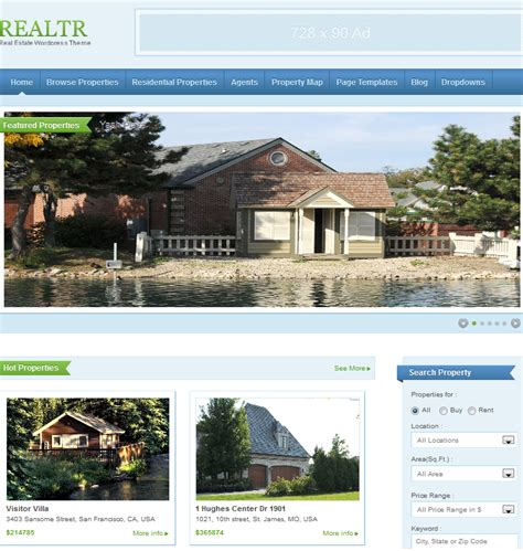 best real estate themes themes for