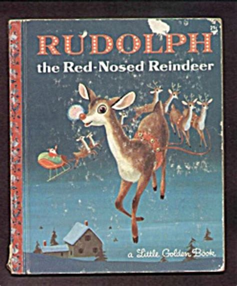brewdolph the hop nosed reindeer books rudolph the nosed reindeer golden book