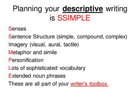 Descriptive Essay About Fireworks by Poster Planning Descriptive Writing By Missrathor