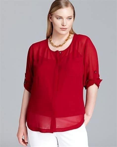 ultimas colecciones de blusas para gorditas imagui blusas rojas para gorditas aquimodacom vestidos de boda