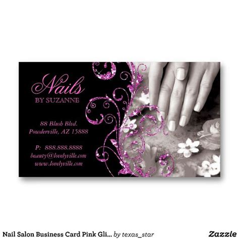 nail business cards templates 69 best images about nail salon ideas on
