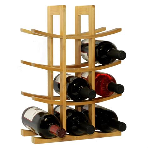 estantes para botellas estante para vino portavinos color 12 rack