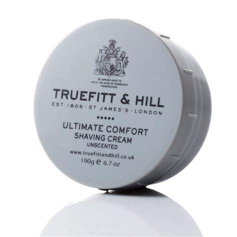 truefitt hill ultimate comfort ultimate comfort シェービングクリーム 無香料 ボウル truefitt hill公式